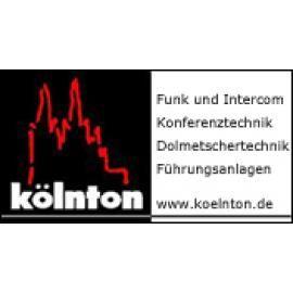 kölnton rental GmbH Funk- und Intercomtechnik