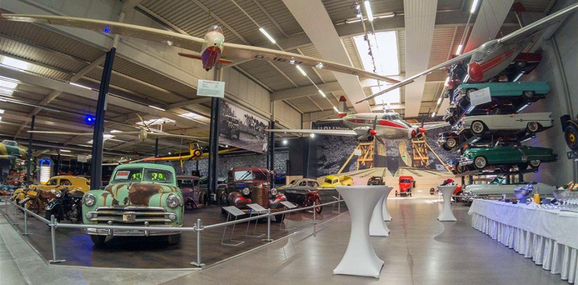Impressionen American Dream Car-Collection Sektempfang
