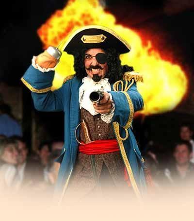 Piraten Kapitän