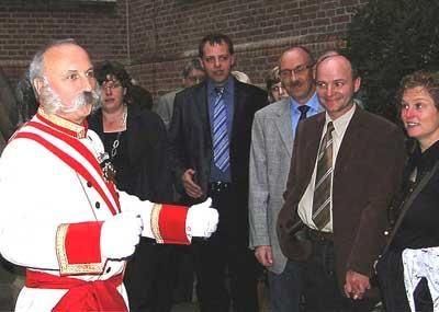"""Kaiser Franz im KrimiDinner """"Diplomatenjagd"""""""