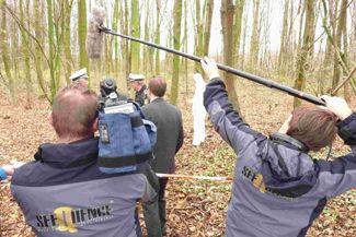 """Kriminalreport Dreharbeiten und Schnitt zur WDR-Sendung """"Kriminalreport"""""""