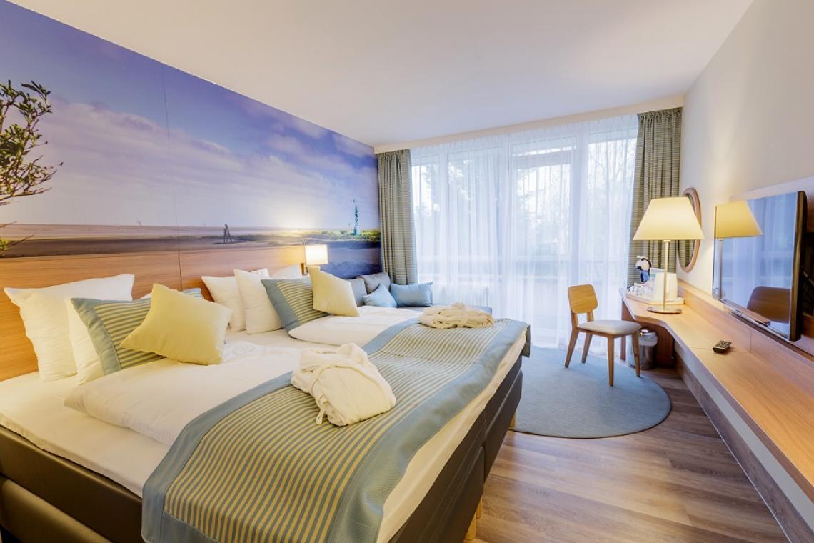 Nordseeküste _Hotelzimmer