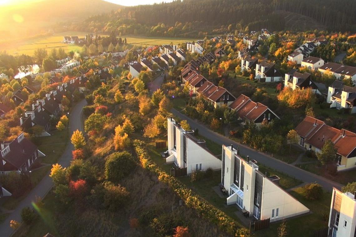Hochsauerland -Luftansicht