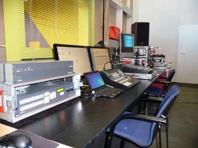 Messe Medientechnik Regieplatz Regieplatz