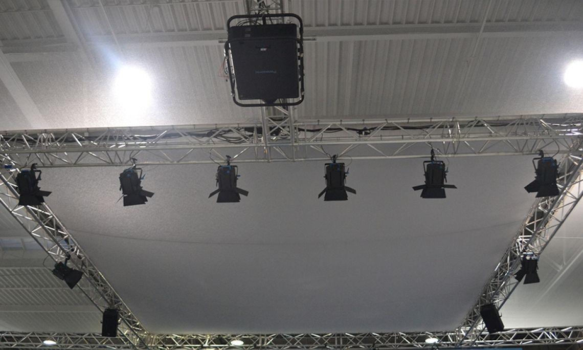 Messe Medientechnik Beleuchtung Bühne