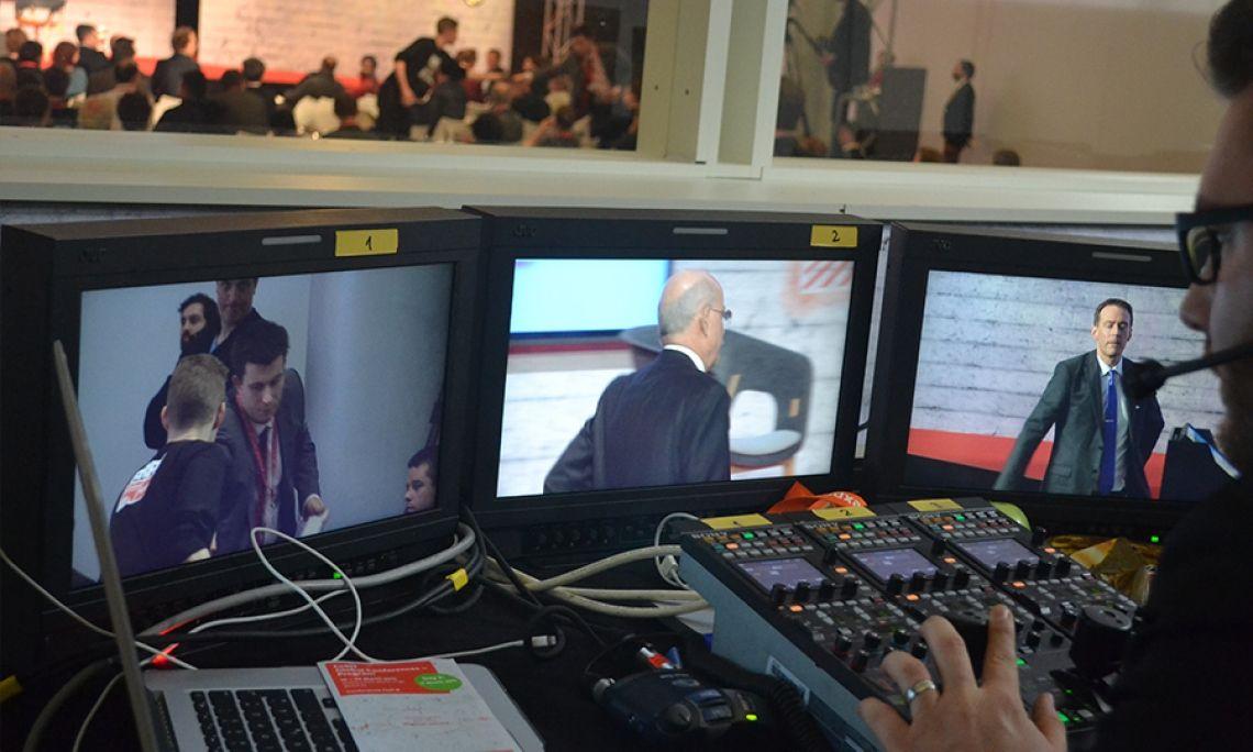 Messe Medientechnik Regie Steuerung Kameratechnik