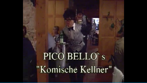 Video: Pico Bello Production - Komische Kellner