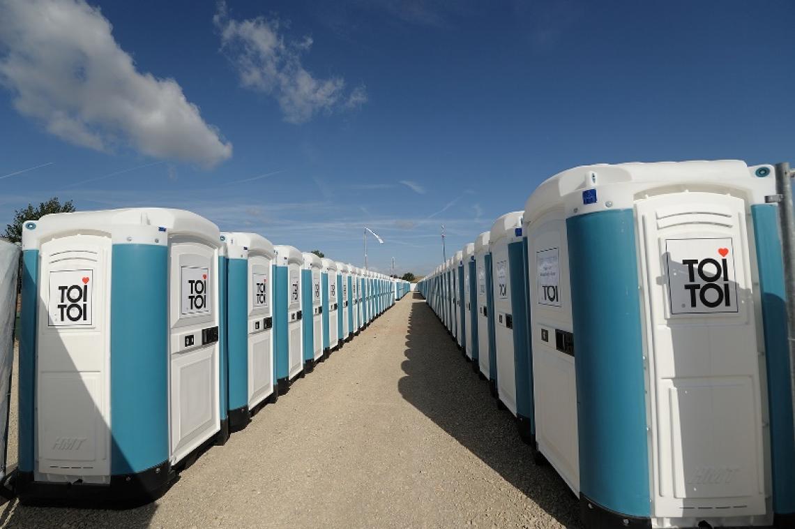 TOI(R) Water - Waschkomfort in der Extraklasse