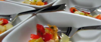 Gabelfood-Ideen
