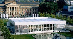 RÖDER Solution RÖDER Solution zur Produktpräsentation BMW in Wiesbaden. Das Eventzelt SOLUTION bietet in den Spannweiten 10, 15, 20, 25 und 30m und in der Doppelstock-Version SOLUTION HIGHEND das perfekte Ambiente für anspruchsvolle Veranstaltungen.