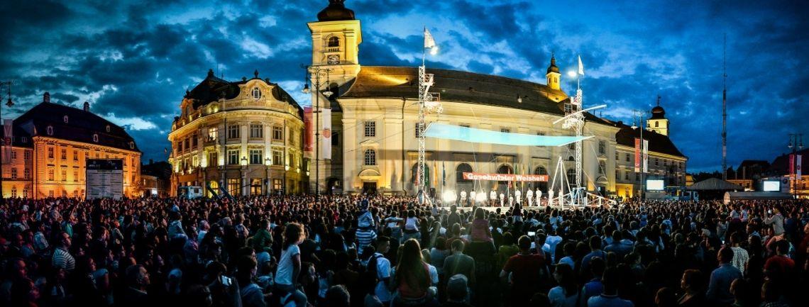 Hochseiltruppe Geschwister Weisheit ® - Panorama Sibiu, Rumänien