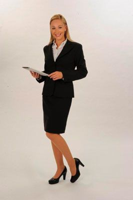 business kostüm