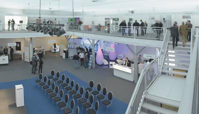 INTERTENT Kongress- und Ausstellungsbereich