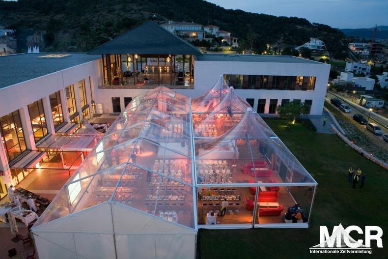 Transparente Zelte