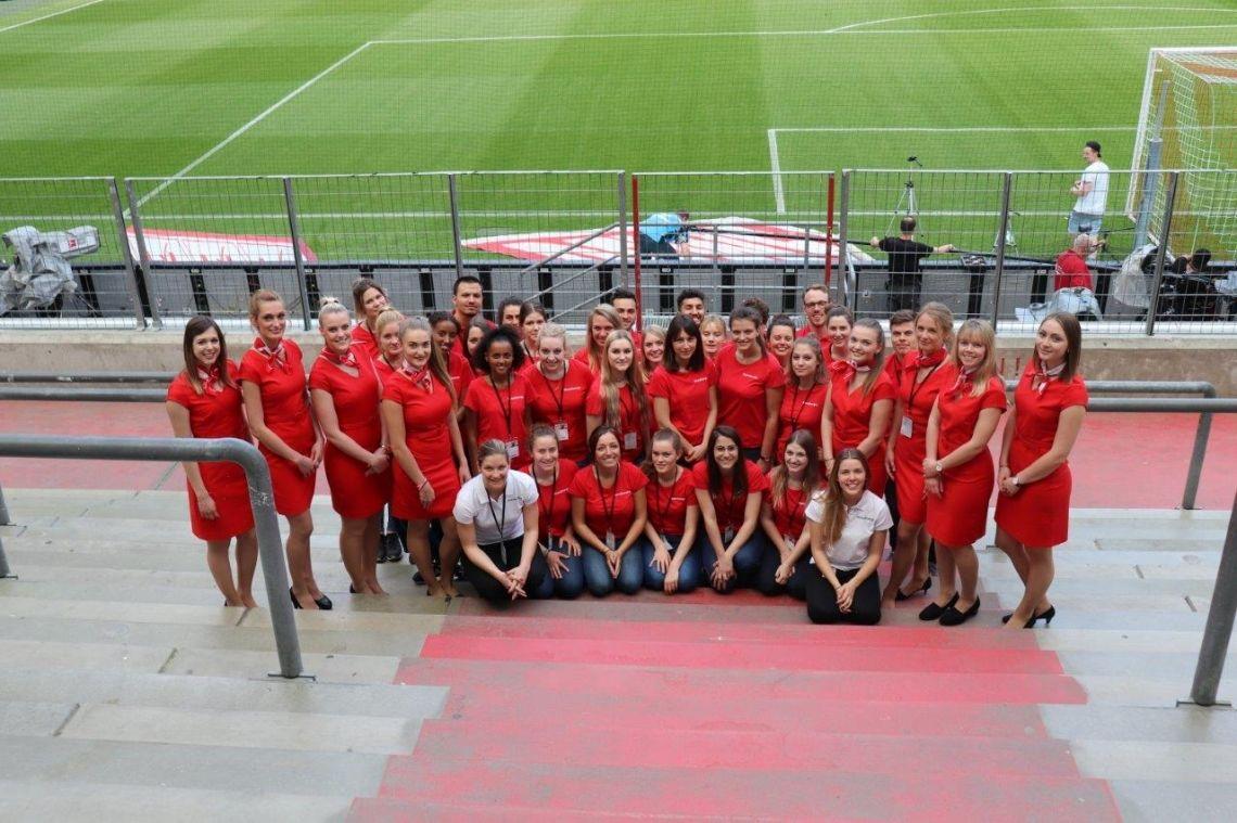 Einsatz beim 1. FC Köln im RheinEnergie Stadion