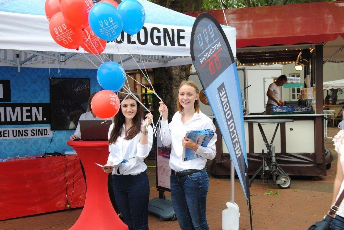Auch NetCologne setzt auf Cologne Promotion