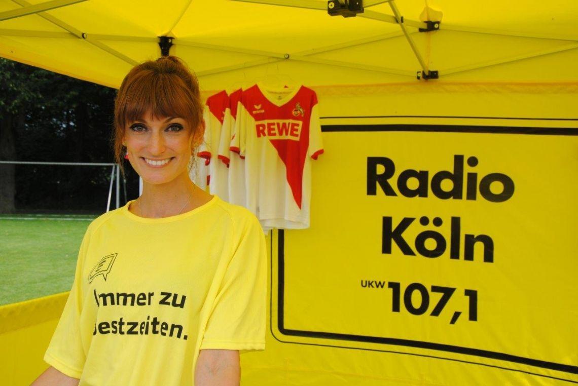 Promotioneinsatz für Radio Kön