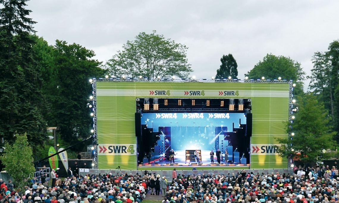 Die erste Show auf der b-stage 120 HD. Heavy Duty –sieht ganz leicht aus, oder? Foto: SWR, Ben Pachalski.