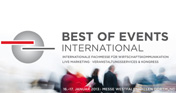 BOE - BEST OF EVENTS INTERNATIONAL BEST OF EVENTS GmbH