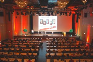 Zum sechsten Mal richten die Auszubildenden des Messe und Congress Centrums Halle Münsterland den Azubi-Kongress Forum VIA Münster aus. Erwartet werden 650 Berufskollegen.