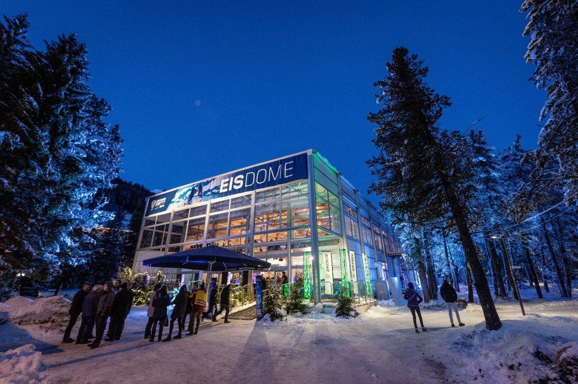 Spengler Cup Davos hospitality - Temporäre Gebäude Spengler Cup Davos hospitality - Temporäre Gebäude
