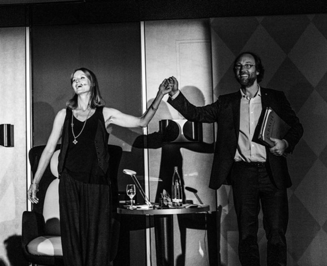 Esther Schweins & Lars Keitel Bad Homburger Poesie&LiteraturFestival  Jane Austen - Stolz und Vorurteil