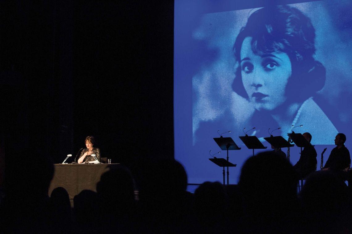 Martina Gedeck Auftritt beim Bad Homburger Poesie&LiteraturFestival Stefan Zweig - Brief einer Unbekannten