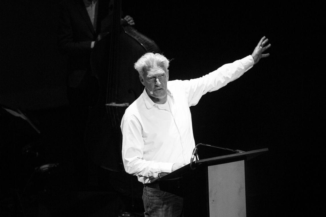 Max Moor Auftritt beim Bad Homburger Poesie&LiteraturFestival Stefan Zweig - Die Schachnovelle