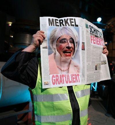 Newspaper Merkel