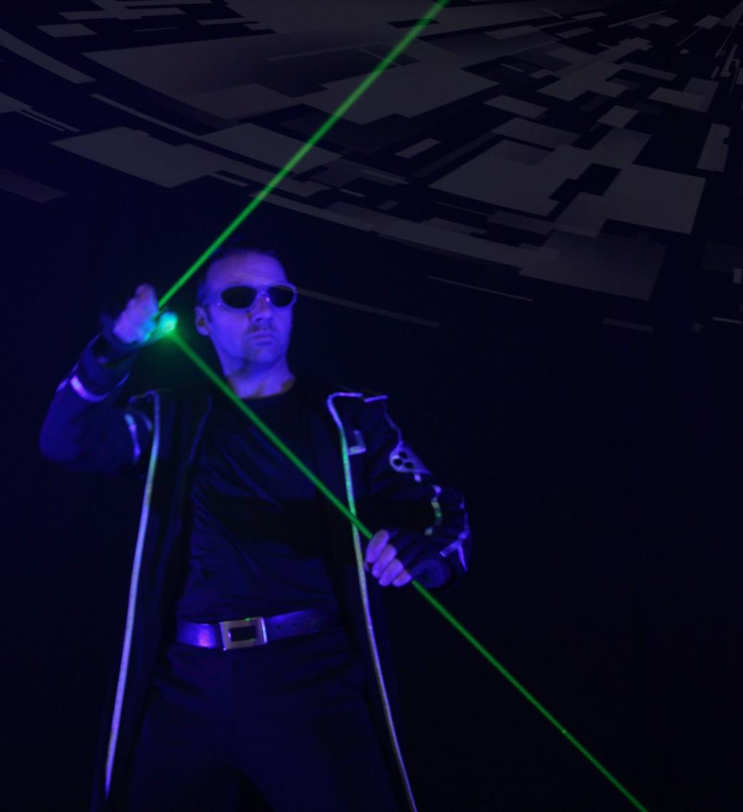 Laserman-Show