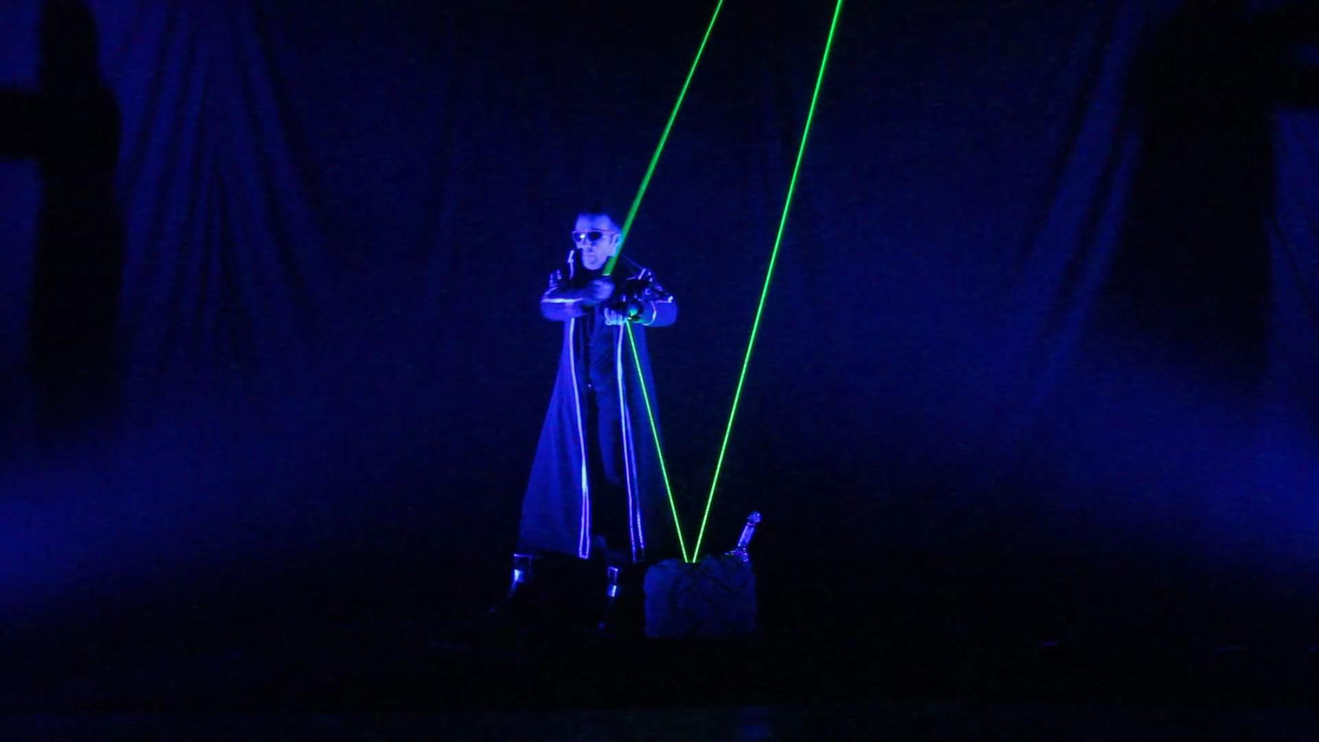 Video: Laserman-Show