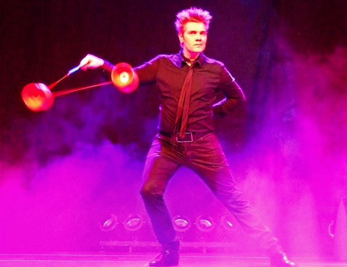 Diabolo Jongleur für Events | Axel S.