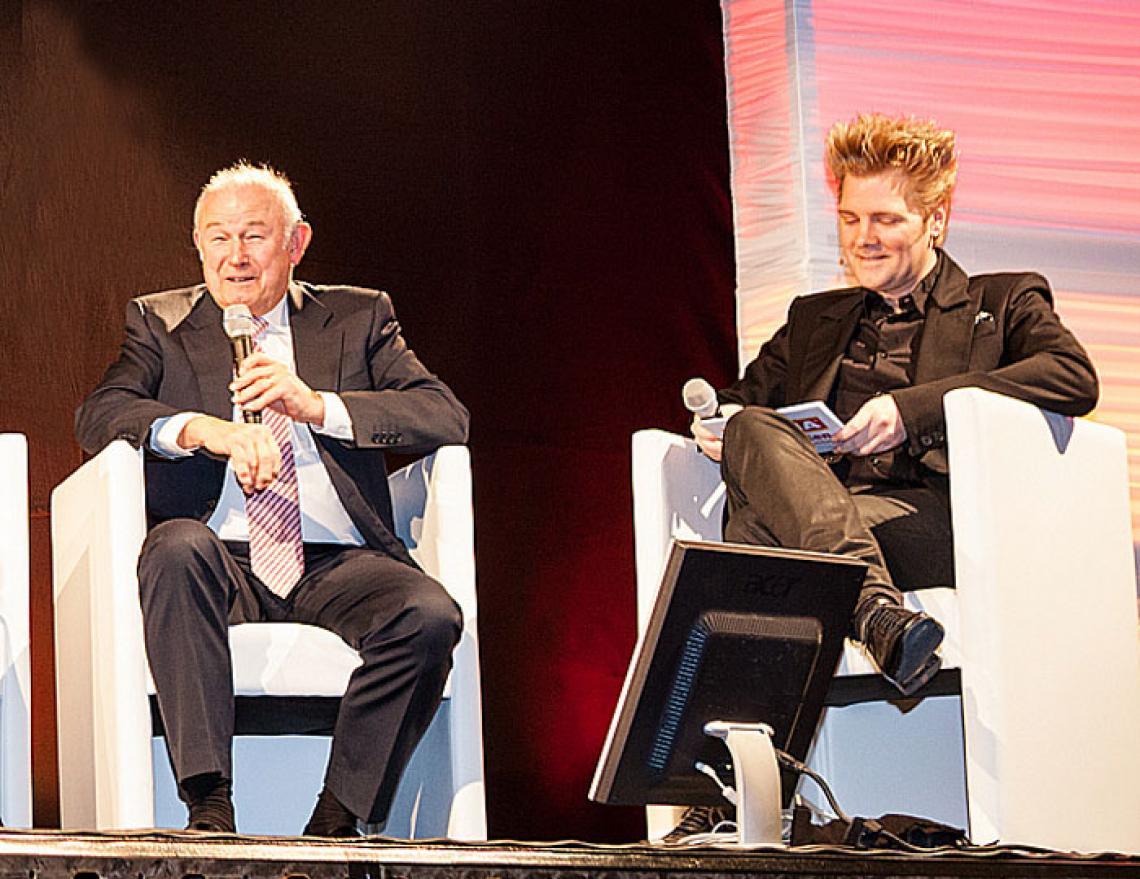 Axel S. im Talk | Moderator für Events