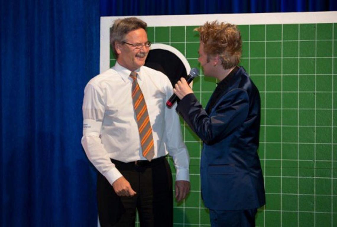 Interview | Axel S. bei Volksbank Veranstaltung