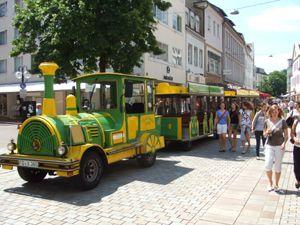 City Bahn Jumbo City Bahn Jumbo - Wegebahnen und Messebahn