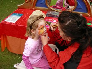 Kinderschminken  Kinderschminken und Airbrush Tattoos