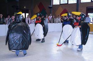Wintersport Wintersport - Eisstockbahnen, Eislaufbahnen, Pinguin-Eishockey etc