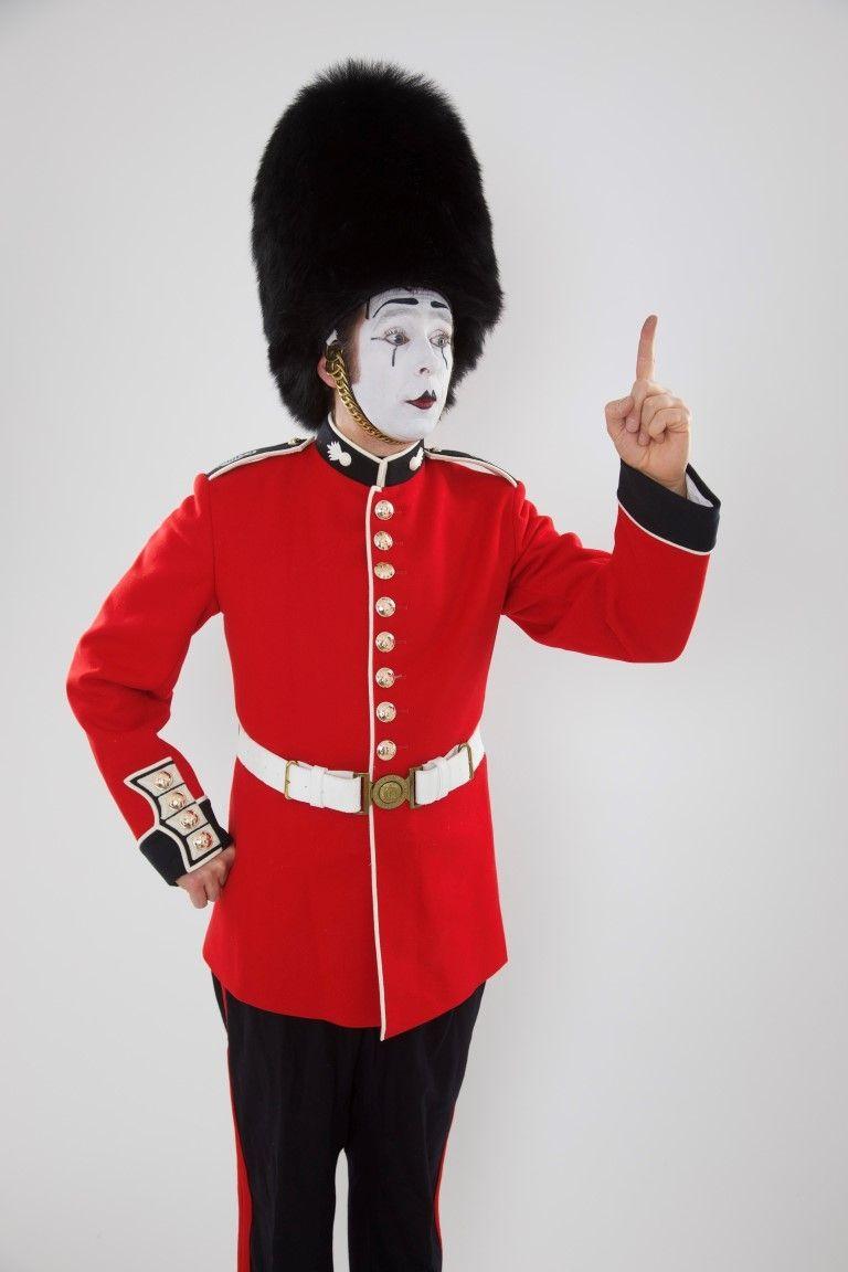 Bastian als Royal Guard