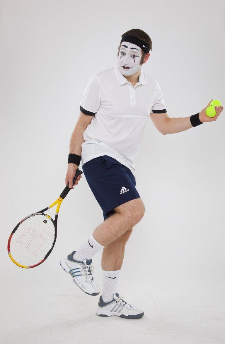 Bastian als Tennisspieler