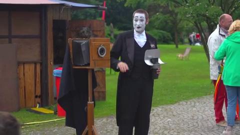 Bastian Pantomime Foto Walk-act