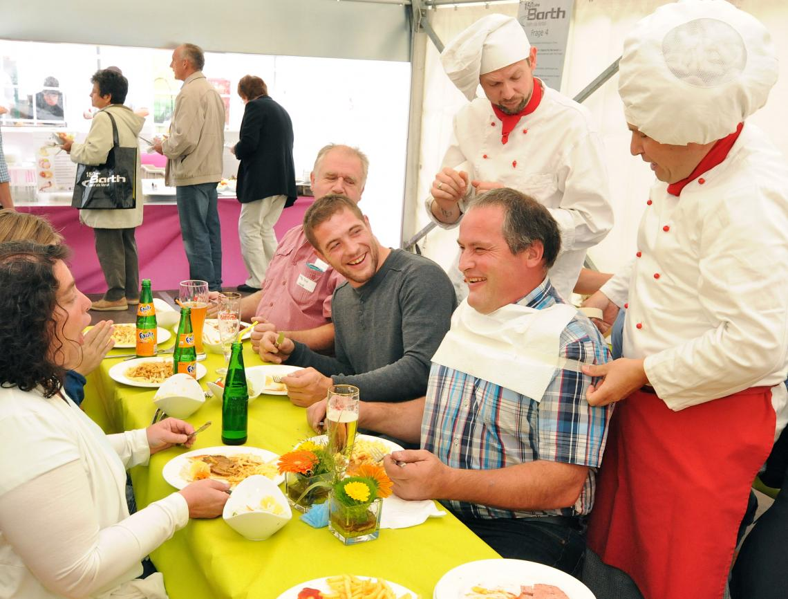 Das Wohlbefinden der Gäste liegt den Köchen sehr am Herzen.