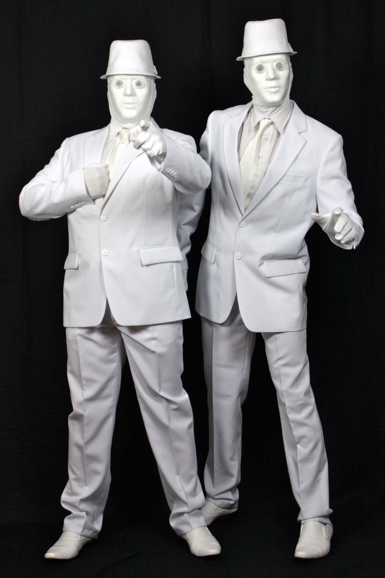 Edd und Lefou´s White Boys - die Livng Doll-Begegnung der besonderen Art.