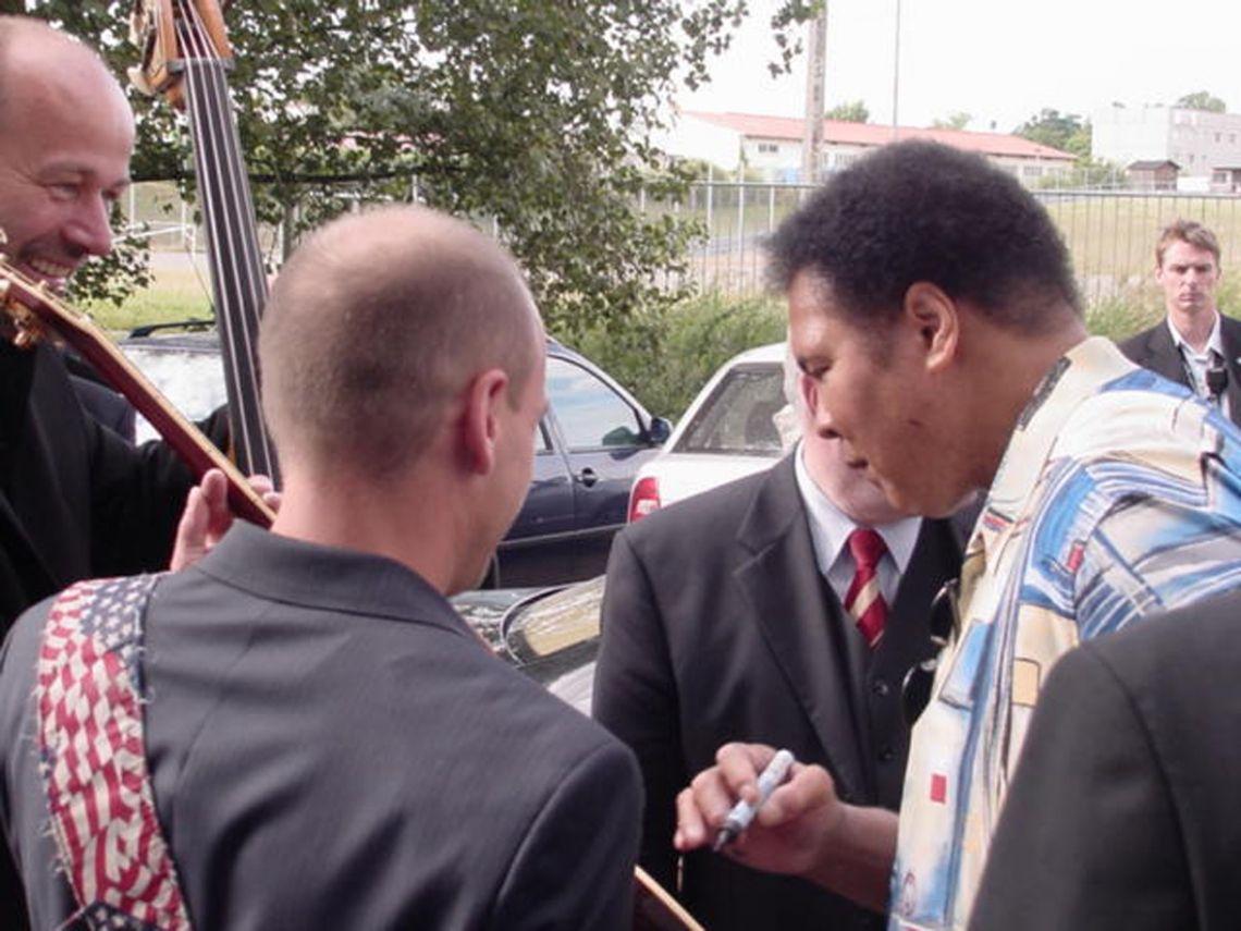 Filmpremiere mit Muhammad Ali