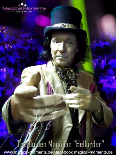 The Golden Magician - Magier aus Gold