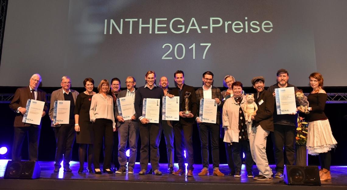 INTHEGA-Preise 2017 Im Rahmen des INTHEGA-Theatermarkts 2017 wurden die INTHEGA-Preise 2017 verliehen.