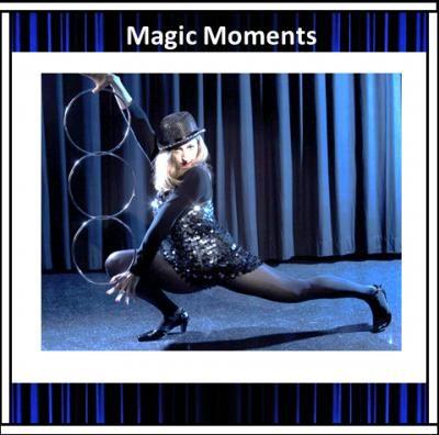 Deutsche Meisterschaften für Zauberei! Prämiert mit Ringroutine!  One-Woman-Show, Stefanie Rummel  Foto: Jörg Ladwig