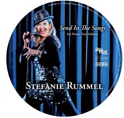 Stefanie Rummel: Prämierte CD - Send In The Songs  Stefanie Rummel, www.One-Woman-Show.de