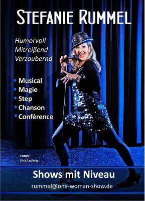 Stefanie Rummel: Sängerin: Musical, Chanson, Jazz, Pop  www.one-woman-show.de Foto: Jörg Ladwig