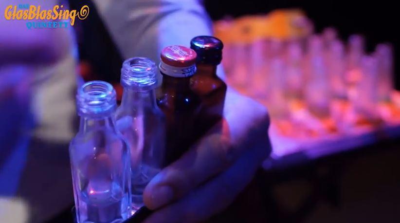 GlasBlasSing Quintett - Männer, Flaschen, Sensationen - Trailer