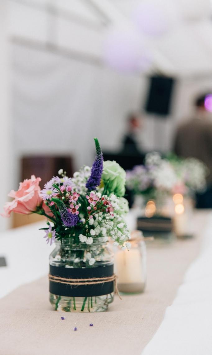 Tischdekoration Dekoration für Hochzeiten